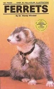 Ferrets by Dr Wendy Winsted Caring Feeding Housebreaking Grooming Handling Breeding Pet HC Book