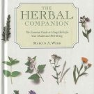 The Herbel Companion by Marcus Webb Health Well-Being Herb Guide Culinary Cosmetic HC Book