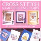 Cross Stitch Samplers Cards by Helen Philipps 55 Designs From The Heart Patterns Crafts HC Book