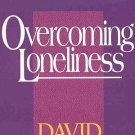Overcome Loneliness by David Jeremiah Soul Disease Grief Separation Death Stress Heal SC Book