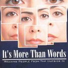 It's More Than Words: Power Of Face Reading by Harry Perdew Autographed by Author SC Book