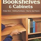 Sunset Bookshelves And Cabinets Design Ideas Projects Building Techniques SC Book