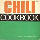 The Chili Cookbook by Johnrae Earl and James McCormick 1st Complete World Collection SC Cookbook