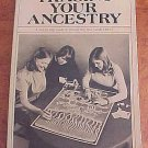 Tracing Your Ancestry by F. Wilbur Helmbold  Family History Research Guide Vintage 1977 SC Book
