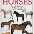 Dorling Kindersley Handbook Of Horses by Elwyn Hartley Edwards 100 Breeds 250 Photos SC Books