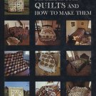 American Quilts And How to Make Them by Carter Houck 42 Old Quilts Patterns HCDJ Book