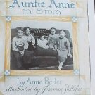Auntie Anne My Story by Anne Beiber Pretzel Maker Autobiography Autographed by Author HC Book