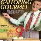 The Galloping Gourmet Life Style #9 Graham and Treena Kerr Factory Sealed 4 Box Set Cooking DVD