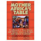 Mother Africa's Table Collection West African & African-American Recipes Traditions 1998 HC Cookbook