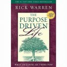 The Purpose Driven Life: What on Earth am I Here For? by Rick Warren HCDJ Book