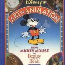 Disney's Art of Animation: From Mickey Mouse to Beauty And The Beast by Bob Thomas HC Book