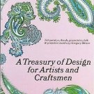 Treasury Of Design For Artists Craftsmen by Gregory Mirow 723 Designs 104 Plates1969 Vintage SC book