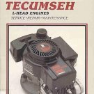 Clymer Tecumseh L-Head Engines by Intertec Service Repair Manual 2.5-10 HP Aluminum Engines SC Book