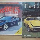 2 Book Lot Corvette C5 and The Corvette by Mike Mueller History Evolution Auto Specials SC Books