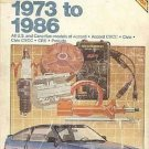 Chilton Honda 1973-1986 USA Canadian Accord Civic Prelude Repair Tuneup Manual SC Book