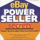 eBay Power Seller Secrets Successful Sellers Insider Tips by Debra and Brad Schepp SC Book