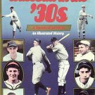 Baseball In The 1930s by Donald Honig Unpublished Photos Sport Heroes HC DJ Book
