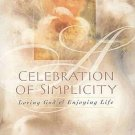 Celebration of Simplicity Loving God And Enjoying Life by Joyce Meyer HC Book