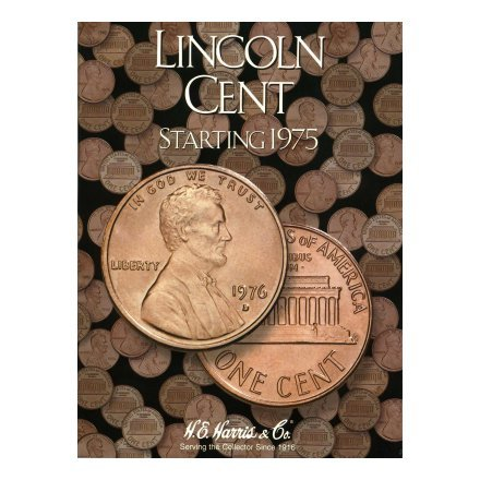 HARRIS FOLDER - LINCOLN CENTS - BOOK 3 - STARTING 1975