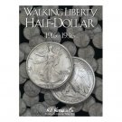HARRIS FOLDER - WALKING LIBERTY HALF DOLLARS - BOOK 1 - 1916-1936