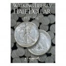 HARRIS FOLDER - WALKING LIBERTY HALF DOLLARS - BOOK 2 - 1937-1947
