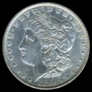 1899 MORGAN DOLLAR - 90% SILVER - AU50 DETAILS - XF40 NET - SEMI-KEY DATE - INCLUDES INSURED MAIL