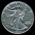 1941 WALKING LIBERTY HALF DOLLAR - 90% SILVER - AU
