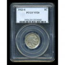 1923-S 1923S BUFFALO (INDIAN HEAD) NICKEL - PCGS CERTFIFIED - VF20