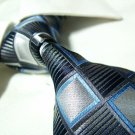 100% silk tie,black check SW1505