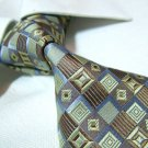 100% silk tie,mixed color check SW1552