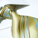 100% silk tie SW1969,yellow stripe