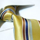 100% silk tie SW2110,yellow stripe