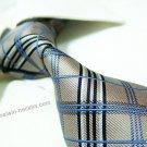 100% silk tie SW2280,golden check