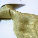 100% silk yellow tie SW2607