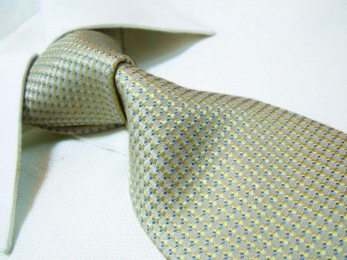 Nexus 100% silk yellow tie SW2627