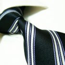 100% silk tie SW2709,black stripe