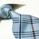 100% silk tie SW2715,grey check