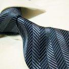 100% silk tie SW2782,grey stripe