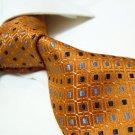 100% silk necktie SW2798,orange check