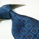 100% silk navy blue necktie SW2820