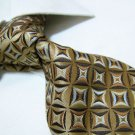 100% polyester golden tie PL22,extra-long