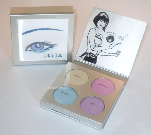 STILA LOVELY Eyeshadows Talking Palette