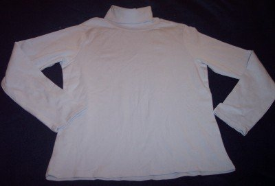 NEW Gap Stretch light blue turtleneck l/s long sleeve shirt boys XL 12