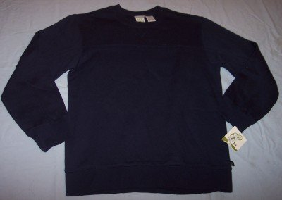 NWT Green Dog basic navy blue sweatshirt boys M 12 14 BTS