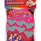 Little Love Treat lotto Ticket