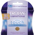 Trojan vibrating ultra touch finger vibe