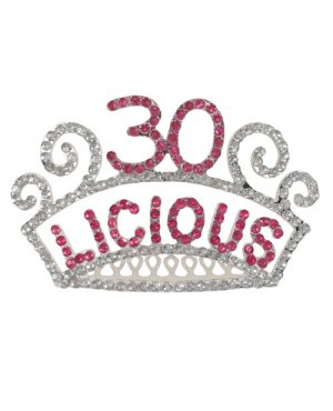 30-licious tiara