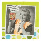 Aprons & attitude don't make me open this can.....napkins - set of 20