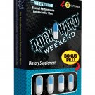 RockHard Weekend - 1 Capsule Box of 4