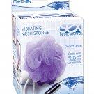 Sex in the shower vibrating mesh sponge
